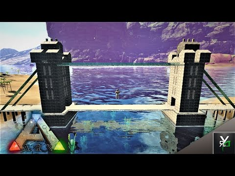 THE TOWER BRIDGE BUILD!!- Ark Building Montage Monday EP 26
