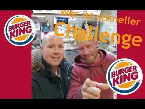 Burger King Challenge | wer isst schneller seine Burger