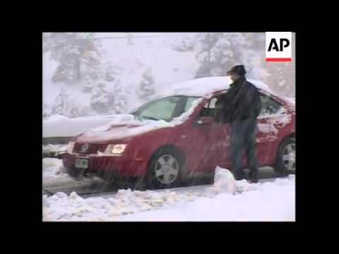 Storm buries Colorado mountains under 18 inches of snow