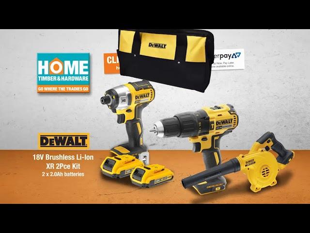 DeWalt 18V Brushless 2Pce Kit