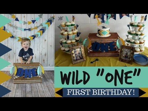 "BABY'S FIRST WILD ""ONE"" THEMED BIRTHDAY PARTY VLOG!"