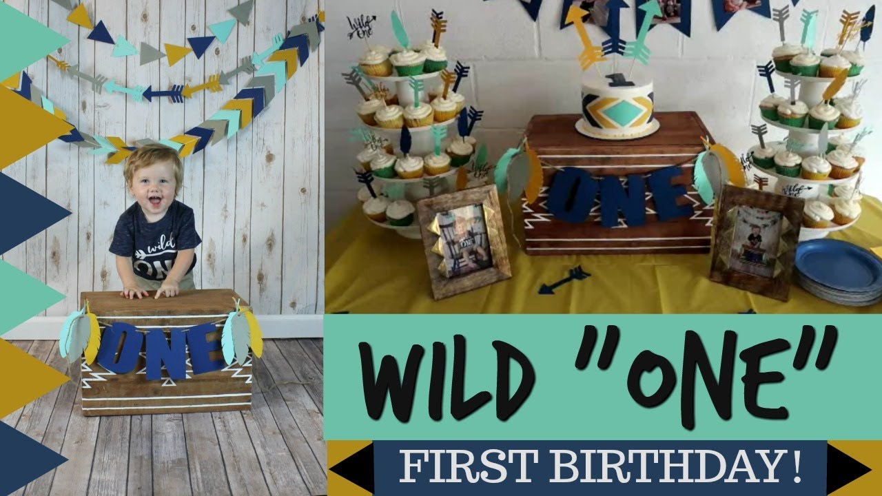 BABYS FIRST WILD ONE THEMED BIRTHDAY PARTY VLOG