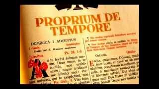 Dominica I Adventus: Gradual Universi qui exspectant.