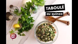 🥗TABOULÉ AU QUINOA 🥗Tuto recette super facile!! PROTÉINES + FRAÎCHEUR 🥗