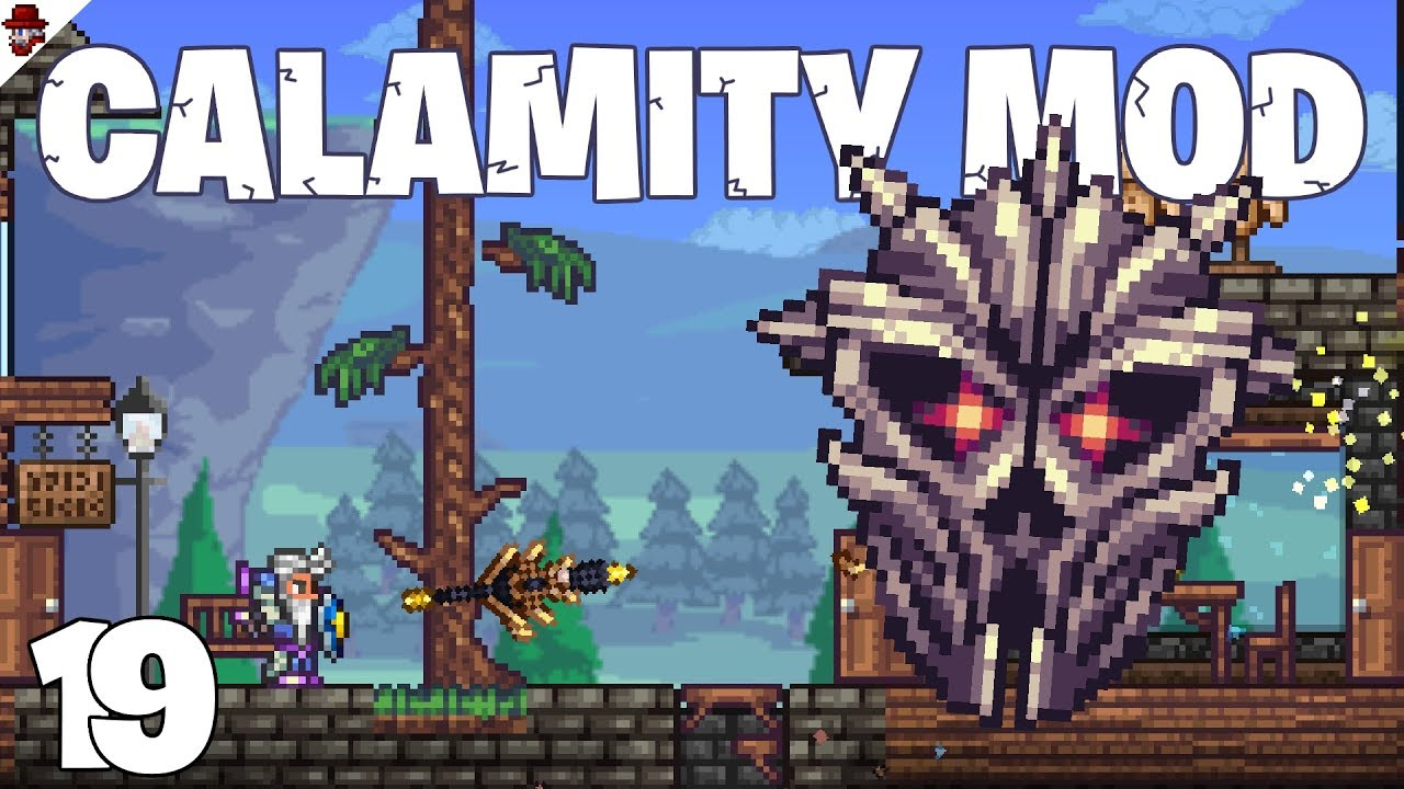 Terraria # 19 Wall of Text - Calamity Mod Let's Play