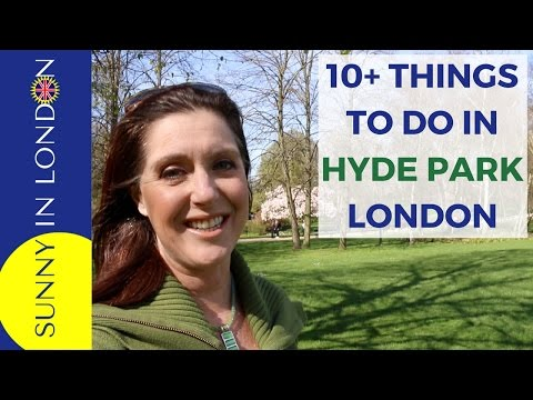 FUN THINGS TO DO IN LONDON- VISIT HYDE PARK