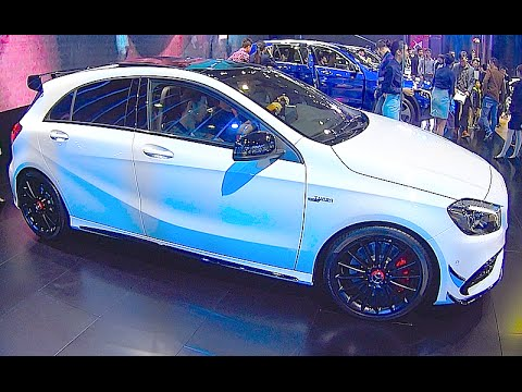 new mercedes a45 amg turbo 2016 2017 sedan interior exterior video youtube. Black Bedroom Furniture Sets. Home Design Ideas