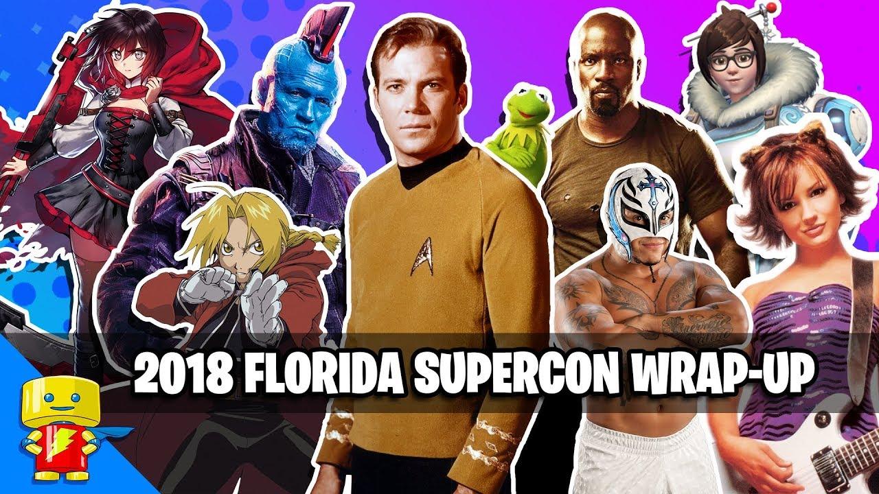 Florida Supercon 2018 Weekend Recap