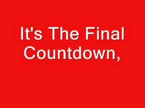 EUROPE - Final Countdown Lyrics | Musixmatch