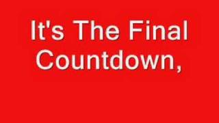 Europe - The Final Countdown - Lyrics