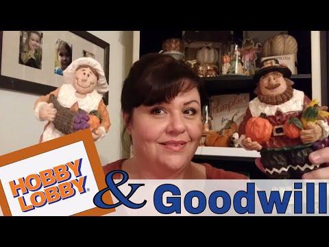 Goodwill & Hobby Lobby Home Decor Haul!