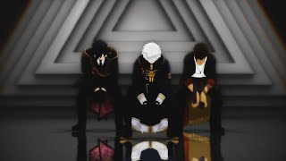 [MMD刀剣乱舞] Turn Off The Light - Nakigitsune, Mitsutada & Ookurikara