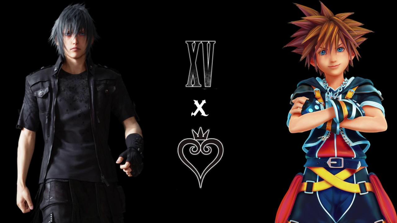 final fantasy xv kingdom hearts 2 8 crossover ost youtube