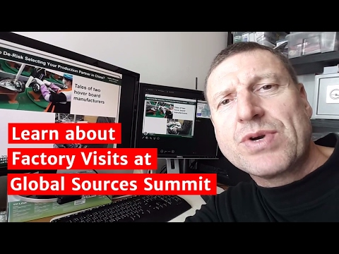 Learn about Factory Visits at Global Sources Summit
