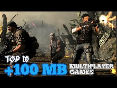 Top 10 Bigger than 100 MB multiplayer games for Android/iOS