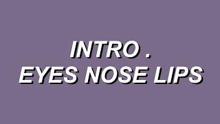 intro . eyes nose lips