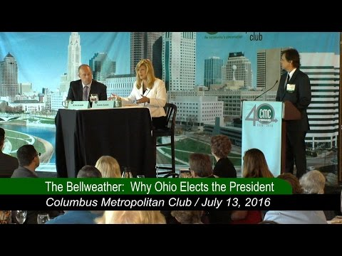 The Columbus Metropolitan Club:: The Bellweather -  Why Ohio Elects the President