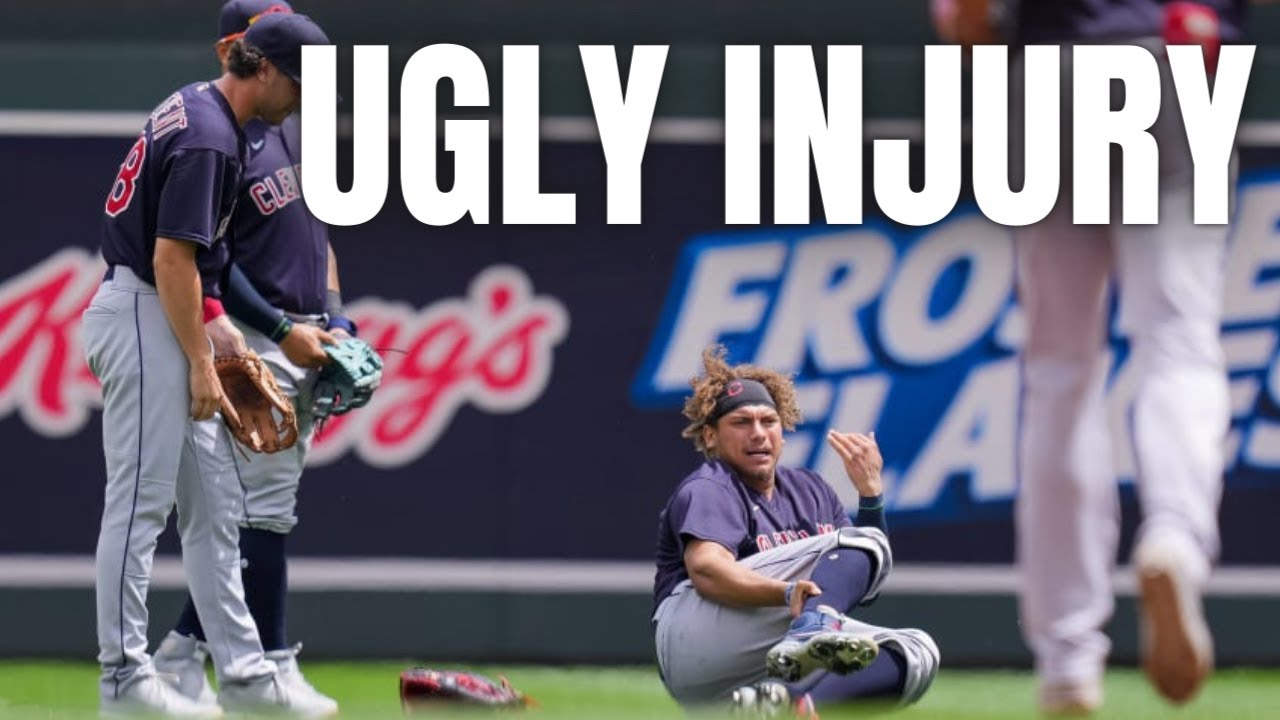 Cleveland's Josh Naylor hospitalized after gruesome ankle injury