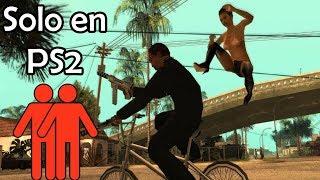 Glitch de teletransportación en modo 2 jugadores- GTA San Andreas PS2