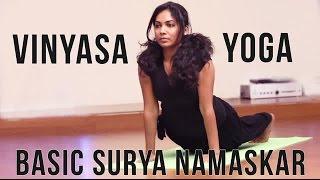 Vinyasa Yoga - Basic Surya Namaskar