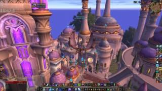 World of Warcraft Legion Dalaran 4k vs 8k (7680x4320) max-setting-GTX 1080 & I7-4790k