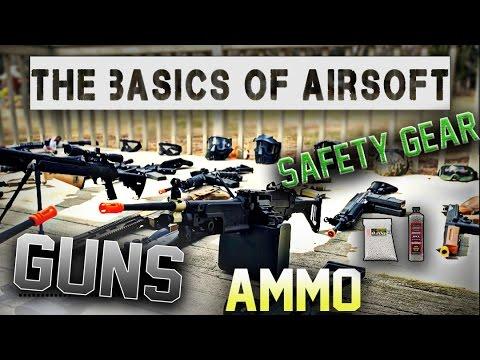 Airsoft Basics: Guns and Gear | A Beginners Guide | Episode 1