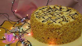 Торт Сникерс | НУ Очень вкусный торт | Новогодний рецепт | Snickers cake
