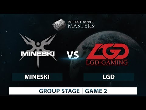 Mineski vs LGD | Game 2 | Perfect World Masters | Group Stages
