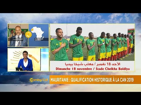 Mauritanie : qualification historique à la CAN 2019 [The Morning Call]