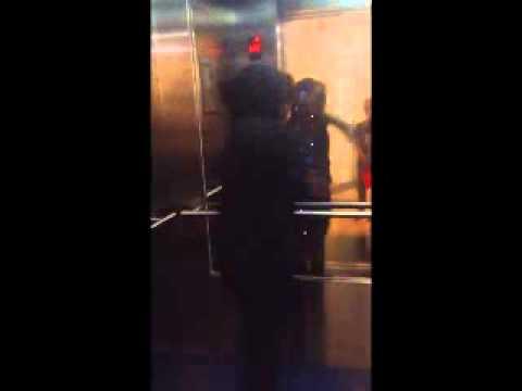 Blue Cross elevator dance by Irish Vermug