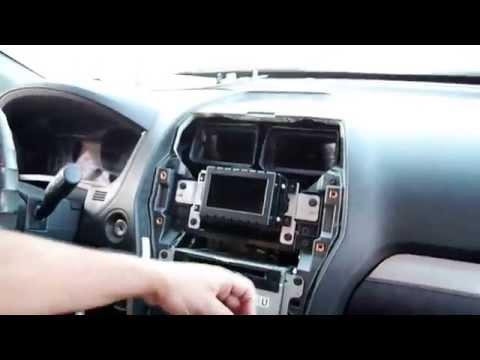 Installing The Radio-Upgrade.com Ford Explorer GPS Navigation Radio