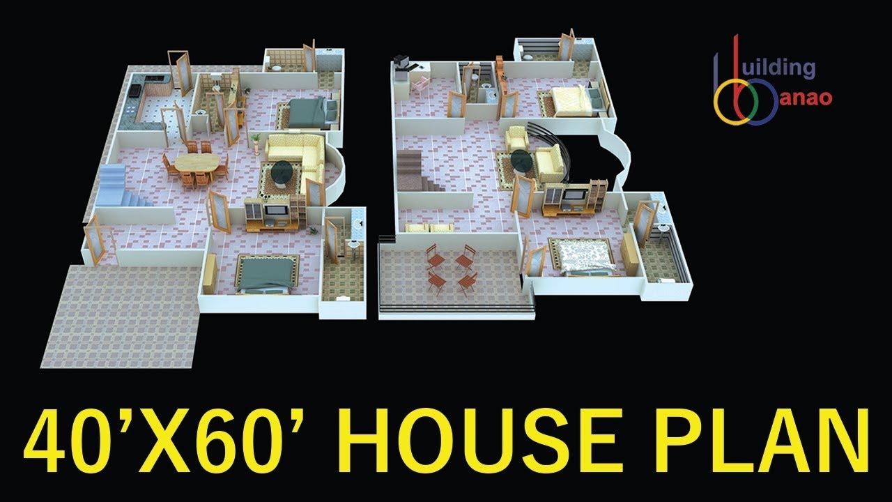 40X60 HOUSE PLAN