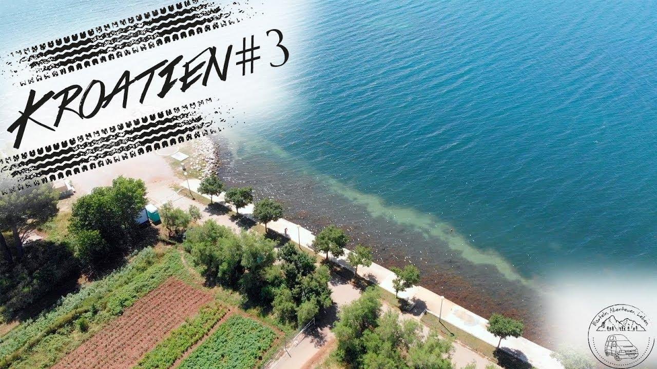 Nächster Stellplatz direkt am Wasser in Kroatien :)  Makarska, Posedarje