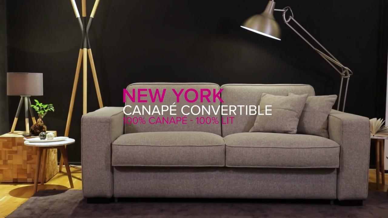 #LaMinuteConvertible Ep.13 : NEW YORK - Canapé Convertible   La Maison du  Convertible