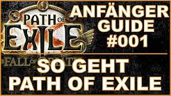 Path of Exile Anfänger - Guides / Einsteiger - Tutorials