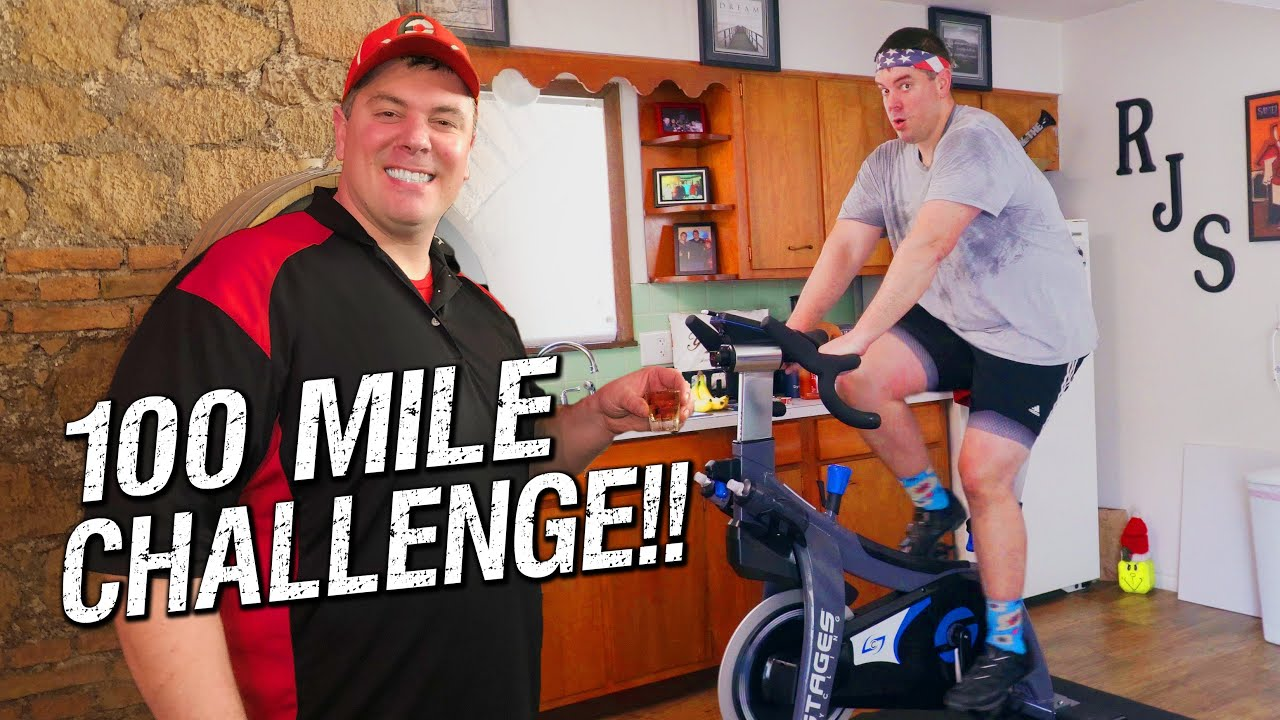 100-Mile Stationary Bike
