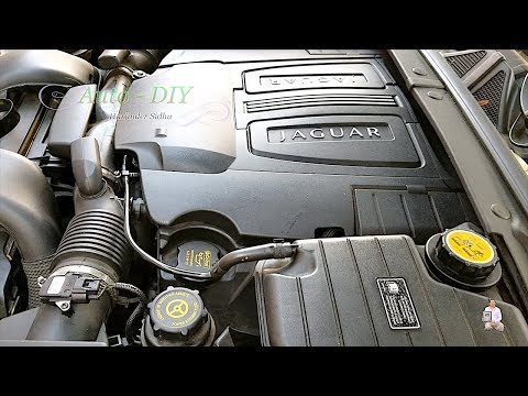 How to Change Engine Oil and Oil Filter on Jaguar XF
