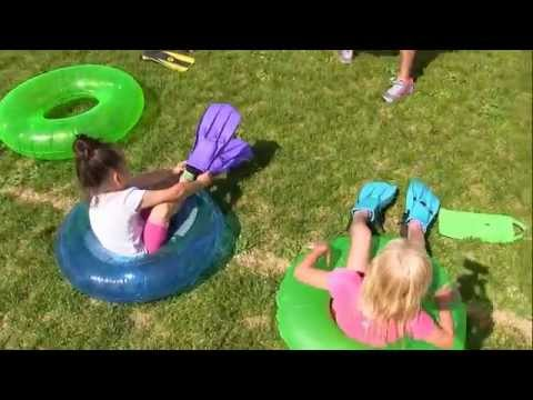 Field day fun with Linwood Elementary School