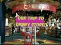 OUR TRIP TO DISNEY STORE HUNTING FOR SLIME AND SQUISHIES????