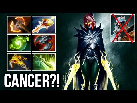 Fury Phantom Assassin Counter Phantom Cancer Crazy Build Epic Gameplay 7.07 Dota 2
