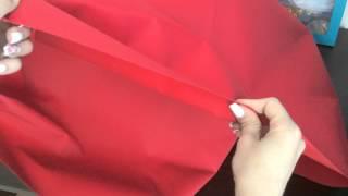Ткань Оксфорд 600D ПВХ, красный