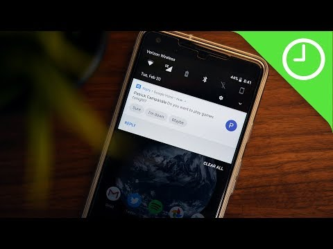 Hands on: 'Reply' brings Smart Replies to your notifications