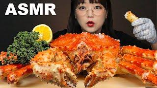ASMR MUKBANG 대왕 킹크랩 먹방🦀 게딱지밥 까지! GIANT KING CRAB EATING SOUNDS