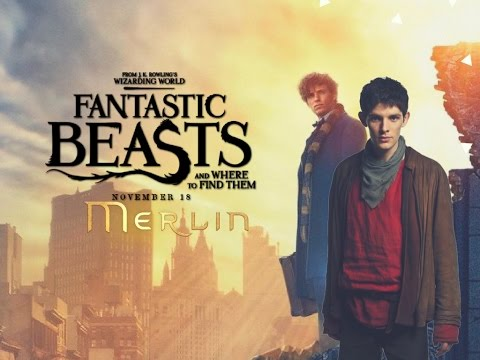 Fantastic Beasts version Merlin  TRAILER (fan made)