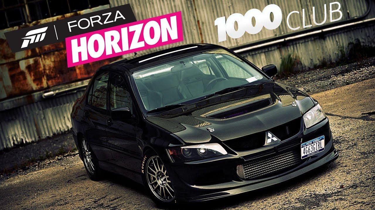 #1 Forza Horizon 1000 Club - Mitsubishi Lancer Evo VIII MR ...
