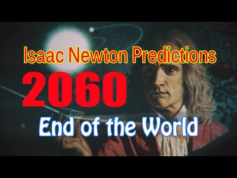 Image result for newton's prediction of when the world will end