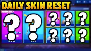 The NEW Daily Skin Items In Fortnite: Battle Royale! (Skin Reset #1)