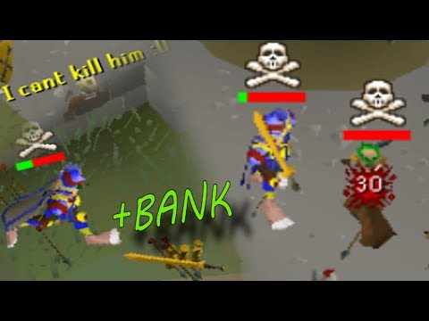 OSRS Pking Bank in F2p (they didn't stand a chance) - H2S Ep.4