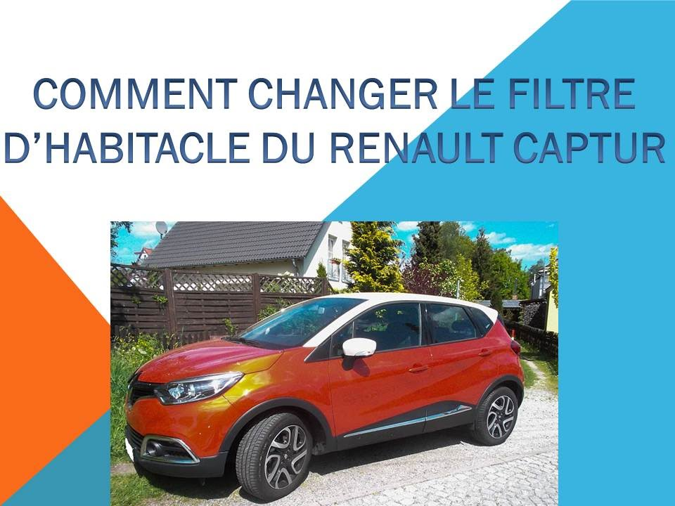 comment changer le filtre habitacle du renault captur youtube. Black Bedroom Furniture Sets. Home Design Ideas