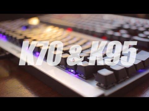 Corsair K70 & K95 Mechanical Gaming Keyboards Review